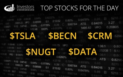 [Morning Recap] Top Stock Trades for February 9th
