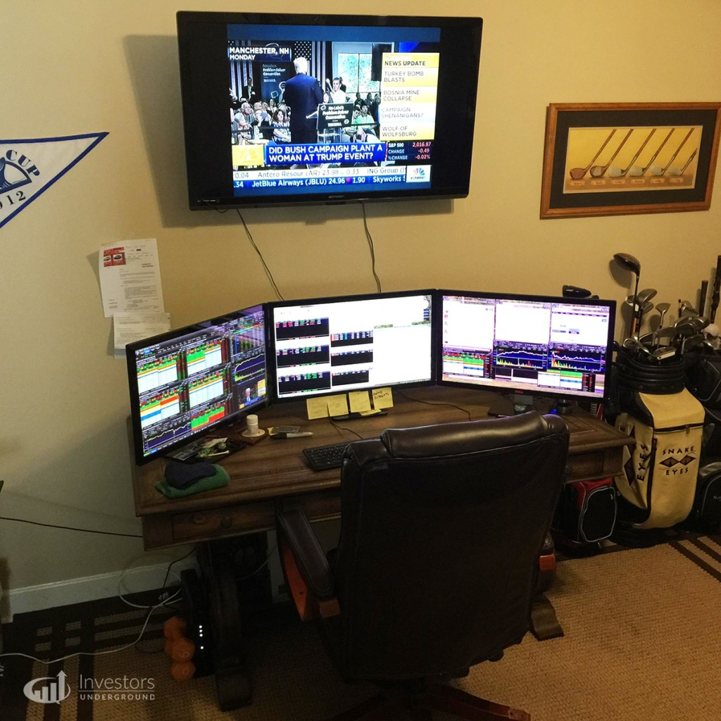 Trading Desks And Monitors From 24 Top Traders