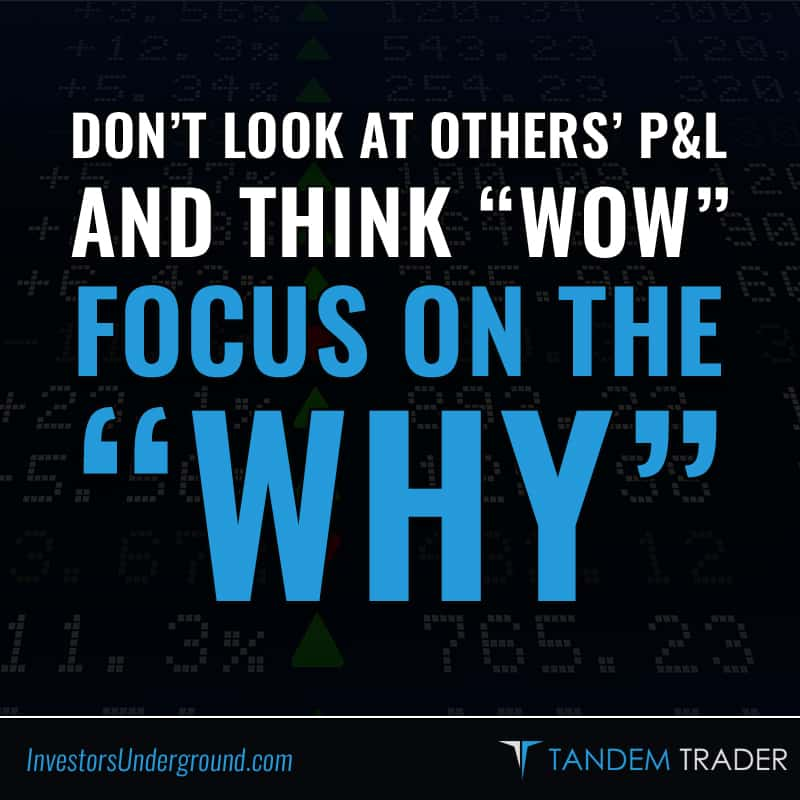 "Focus on the ""Why"""