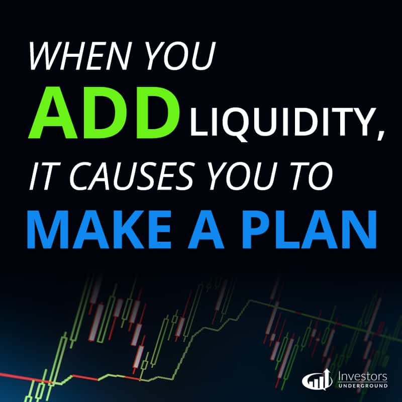Add Liquidity in the Stock Market