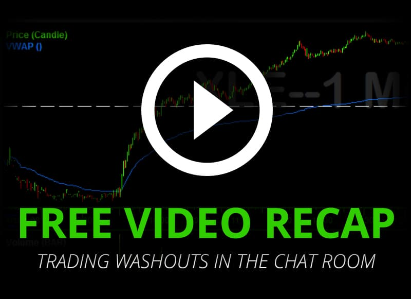 [VIDEO] How To Trade Major Gap Down Washout Days, They Don't Come Often!