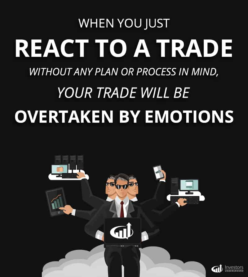 Reacting to Trades