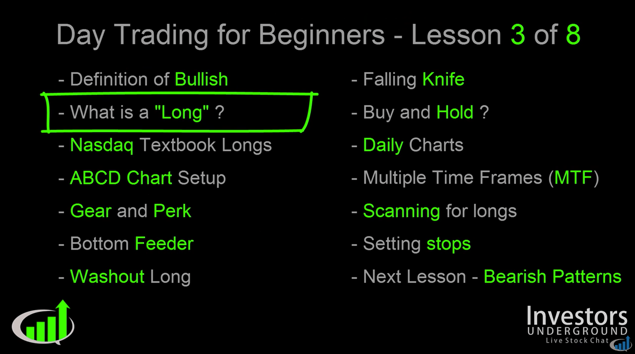 Day Trading Video Lesson 3