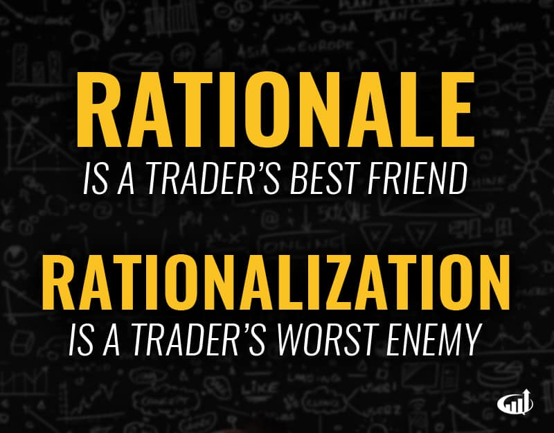Rationale vs. Rationalization