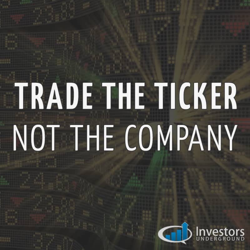 Trade the Stock Ticker