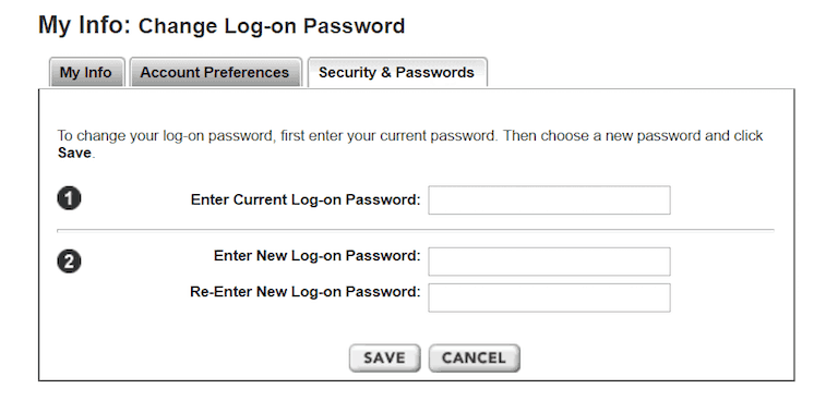 Change Your Etrade Password