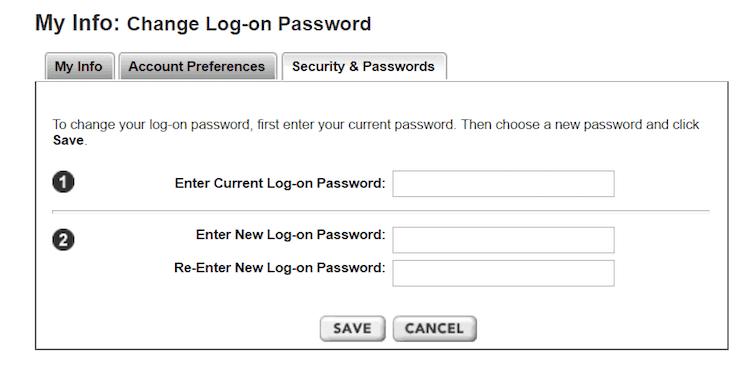 Change Your Etrade Password