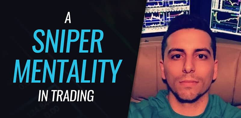 A Sniper Mentality in Trading by @DGTrading101