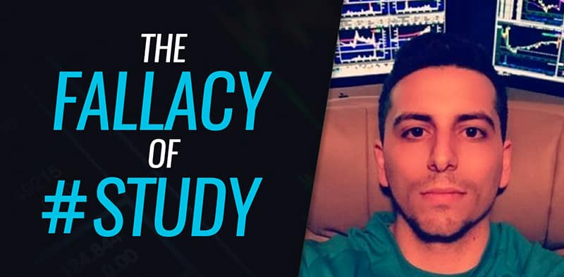 The Fallacy of #Study by @DGTrading101