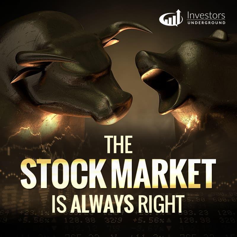 Stock Market is Always Right