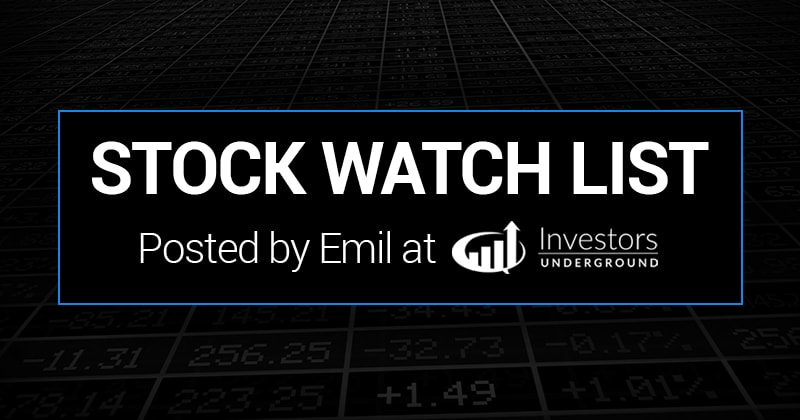 On watch 11/12/18 from Emil