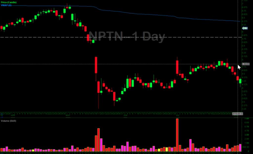 NPTN Chart 1