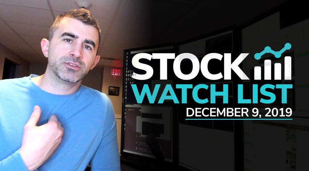 Free Scan Sunday: Stocks to Watch for Monday December 9, 2019
