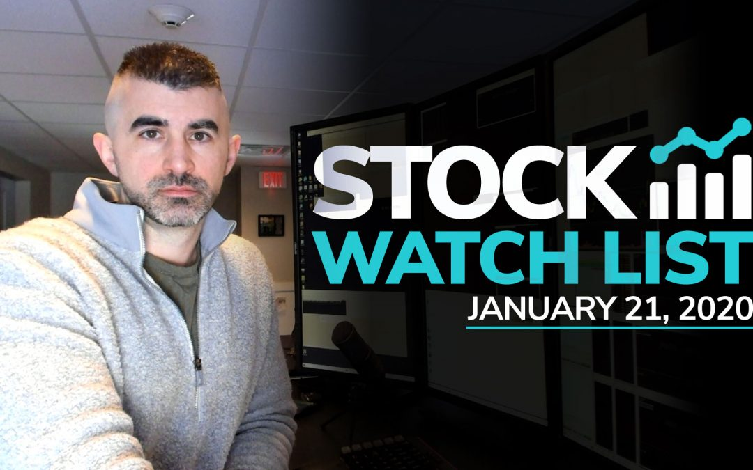 Free Scan Sunday: Stocks to Watch for Tuesday January 21, 2020