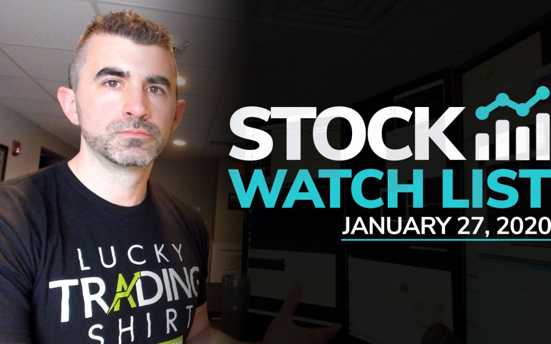 Free Scan Sunday: Stocks to Watch for Monday January 27, 2020