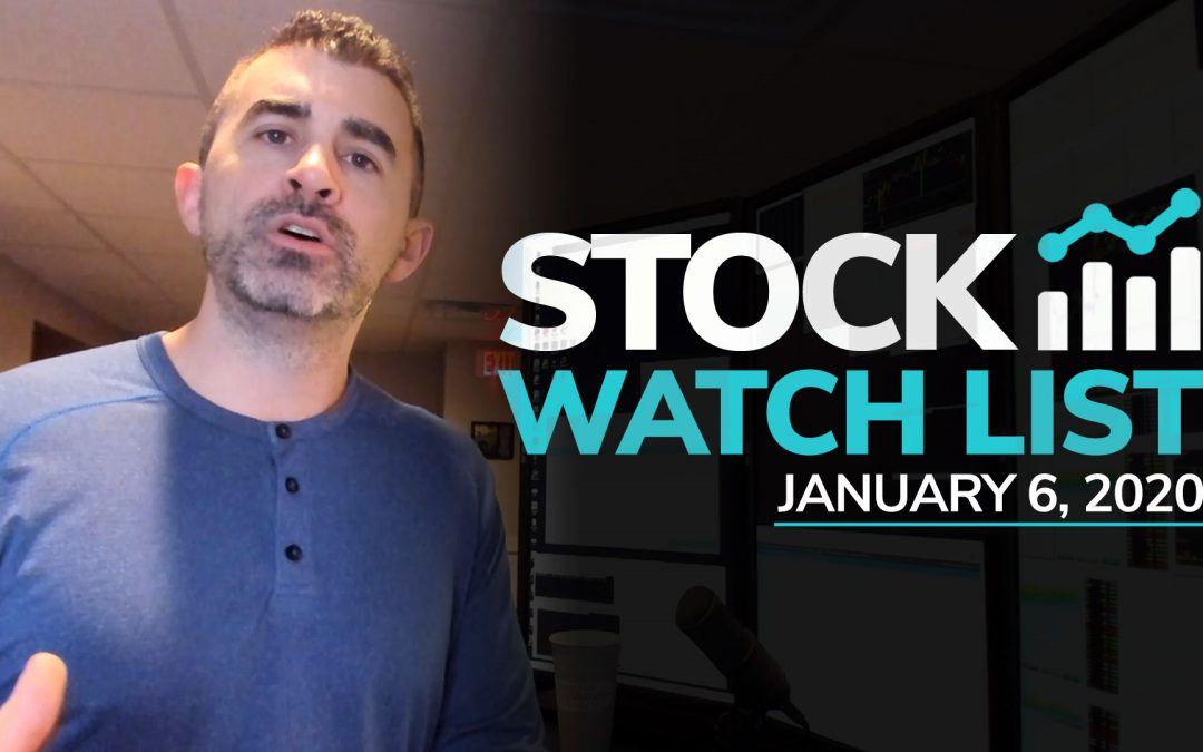 Free Scan Sunday: Stocks to Watch for Monday January 6, 2019