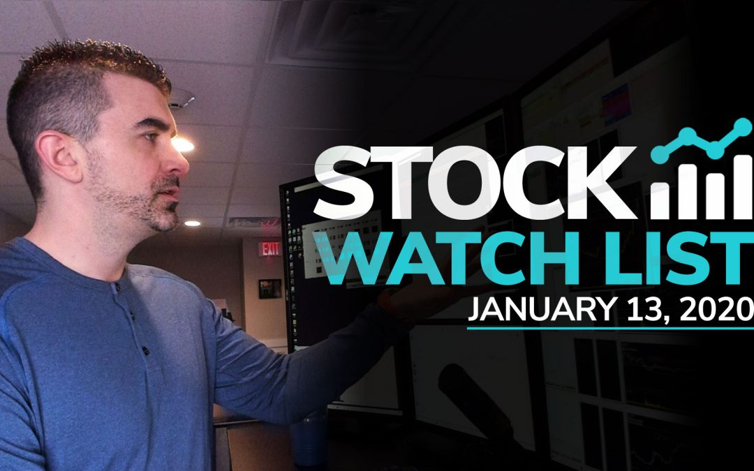 Free Scan Sunday: Stocks to Watch for Monday January 13, 2019