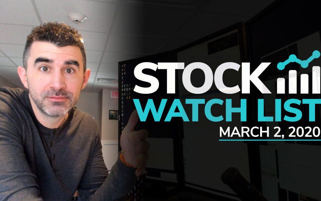 Free Scan Sunday: Stocks to Watch for Monday March 2, 2020