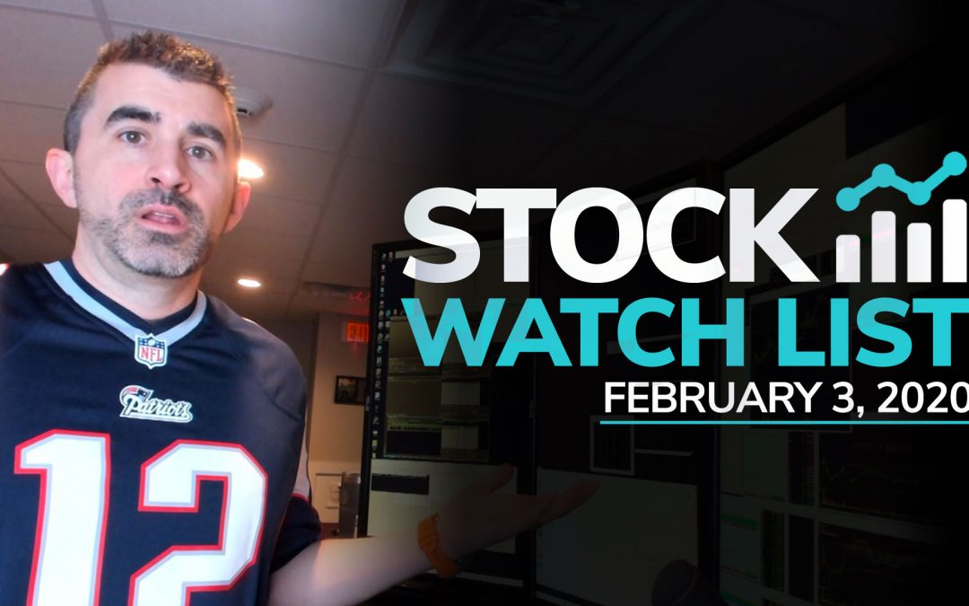 Free Scan Sunday: Stocks to Watch for Monday February 3, 2020
