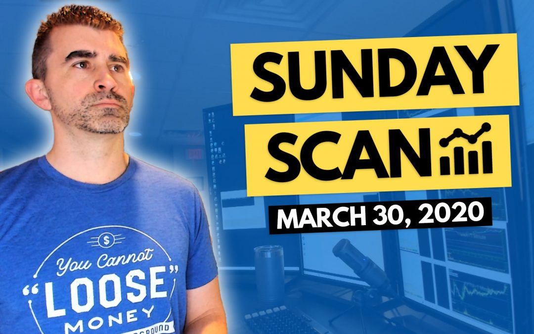 Free Scan Sunday: Stocks to Watch for Monday March 30, 2020