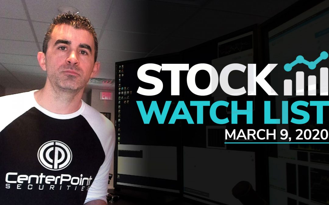 Free Scan Sunday: Stocks to Watch for Monday March 9, 2020