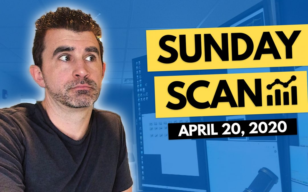 Free Scan Sunday: Stocks to Watch for Monday April 20, 2020